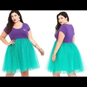 Torrid Ariel Dress/ Costume